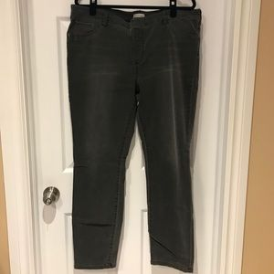 Revolution by Rickis Grey washed stretch Jeggings
